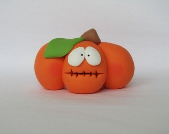 Polymer Clay Pumpkin