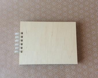 Wooden cover album / scrapbooking album / photo album / blank album for diy /