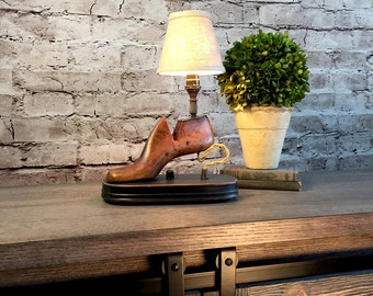 Table Lamp Lighting Vintage Home Decor