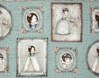 Quilting Treasures - SANTORO - Mirabelle Curiosity Panel