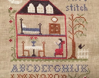 One More Stitch-Little House Needleworks