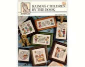 Raising Children By the Book, 1996 Praying Hands Religious Counted Cross Stitch Chart Pattern Book, 22 Designs by Deborah Lambein