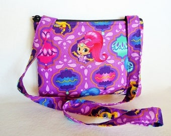 Kid's Crossbody Bag: Shimmer and Shine