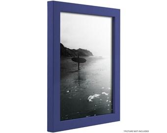 "Craig Frames, 11x14 Inch Modern Blue Picture Frame, Confetti, .875"" Wide (1406401114 )"
