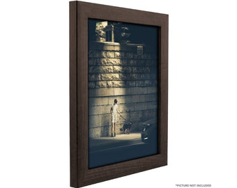 craig frames 20x27 inch brazilian walnut brown picture frame 1 wide 232477782027