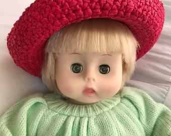"Effanbee 1980 doll 12"""