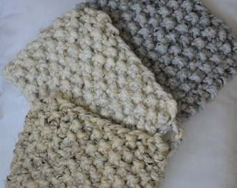 Knit Wash Cloth / Gift for Her and Him / Ready to Ship Free US Shipping
