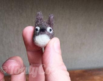 Small Totoro/ MADE TO ORDER/  My Neighbor Totoro Studio Ghibli