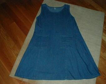 Denim Jazz Lightweight Cotton Size 1X Jumper