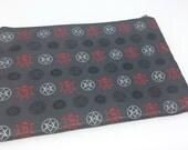 Supernatural occult symbols pattern Dean Cas Sam pouch or coin purse wallet