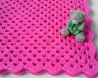 Crochet Baby Blanket Pattern tutorial PDF file, colcha ,coperta, Babydecke, manta, couverture