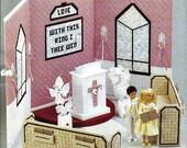 Wedding Chapel Annie's Fashion Doll Plastic Canvas Club Furniture Pattern FP29-01