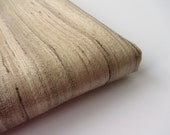 Natural raw silk undied natural color fabric nr 798 fat quarter (1/4 yard)