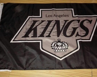 LA Los Angeles Kings 3 X 5 Feet Flag Banner NHL Hockey Fan Decor