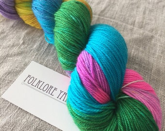 Superwash Merino Sock- Iris