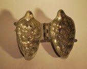 Original Victorian Pewter Chocolate Mould - Pine Cone Shaped