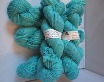 Double Knit BFL -  A DK Bfl yarn - Turquoise