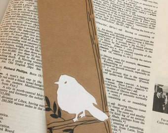Bird Lovers Bookmark, Laminated Bookmark, Gift for Mom, Teacher Appreciation