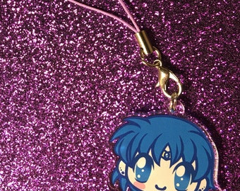 "Sailor Mercury 1.5"" Charm or Keychain"