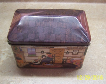 American Landscapes - Series 1 A LOG CABIN Tinscapes Tin