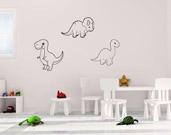Dinosaur Outlines