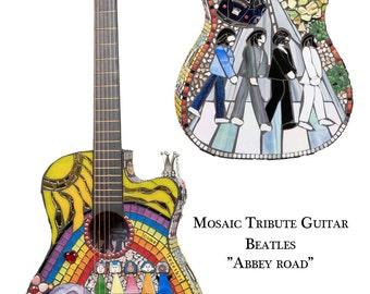 Beatles Abbey Road Blank Note Card