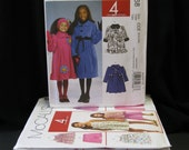 NOS 10 Girl's Patterns sizes 2 - 6, McCall's 2590, 5968, 5650, 5615, 5908, 4283, 5837, 5310, 9369, Easy Stitch 'N Save 5908, Butterick 4968