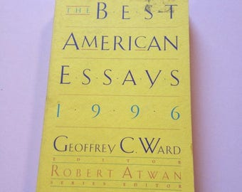 SALE - American Essays Collection 1996