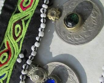 Kuchi Tribal Choker/Head band many colors to choose from