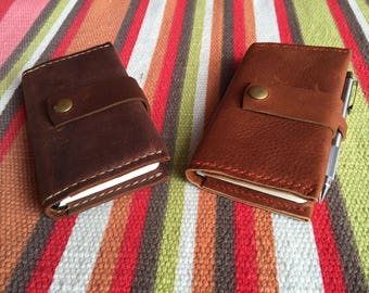 Leather Note Pad* Leather Sketch Pad* Leather Diary* Leather Business Pad* Leather Pocket Pad* Leather Wallet and Business Card Holder