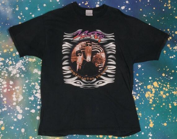 ZZ Top Rock 1995 Continental Safari Tour T-Shirt Size XL J3hMIz65N