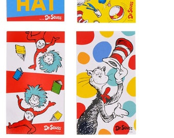Dr. Seuss Birthday Party Favors; Dr. Seuss Baby Shower Favors; Cat In The Hat; Fox in Socks; Dr. Seuss Favors guest thank you gifts;  decor