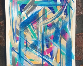 painting on paper | acrylic | abstract art