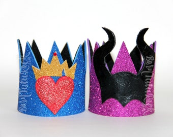 Descendants Crown // Mal Crown // Evie Crown // by Born TuTu Rock