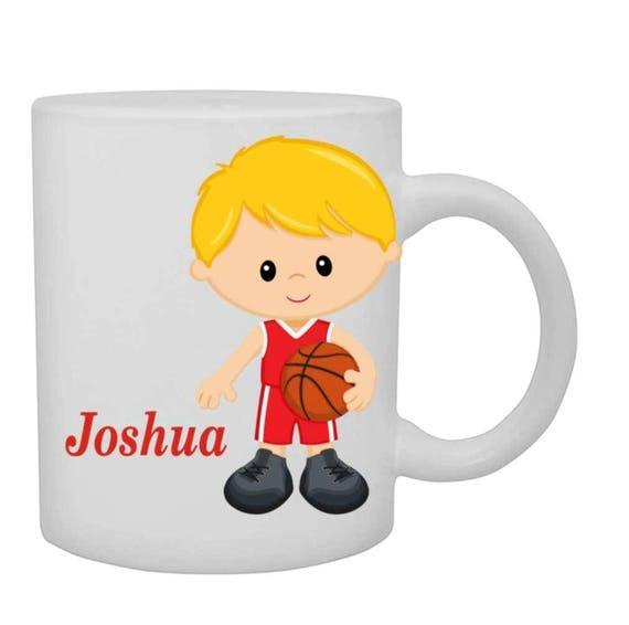 boys basketball mug, boys basketball cup, personalized boys cup, customized boys mug, boys mug, boys birthday gift,