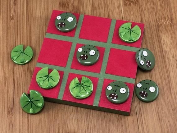 Plants vs zombies tic tac toe board zombie and by - Zombie side gioco da tavolo ...