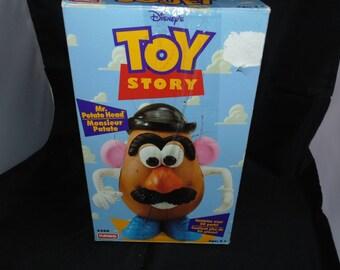 Vintage 1995 Toy Story Mr POTATO Head Game Playskool Walt Disney Hasbro