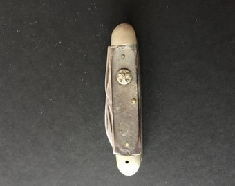 Vintage Boy Scout Pocketknife 1960's made by Ulster