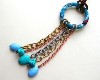 Rustic Bohemian Necklace