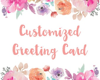 Customize a Current Instant Design Greeting Card – Digital Greeting Card Design