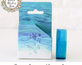 Ocean Breeze Washi Tape - So pretty for your planner & art journal pages!