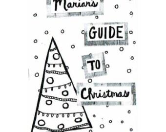 Marian's Guide to Christmas - mini zine