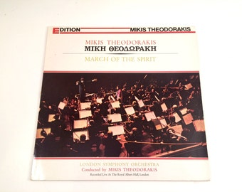 Mikis Theodorakis, London Symphony Orchestra, March Of The Spirit