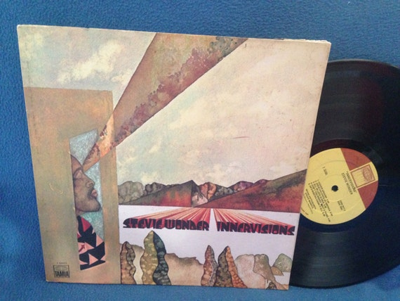 Rare Stevie Wonder Innervisions Vinyl Lp Record By