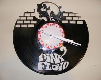Pink Floyd Laser Cut Album Clock