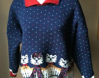 Kitty Cat Sweater