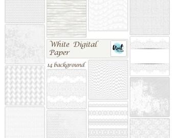 White digital paper. White background. White wood paper. White. White digital textures. White paper. White wood. White wood digital- Rusteam