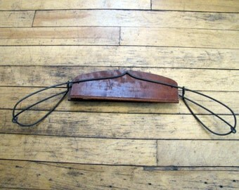Antique Belmar Clothes Hanger, Belmar, Wood, Clothes Hanger, Washington, DC, Hanger, Suit Hanger, Skirt Hanger, Belmar Clothes System, 1900