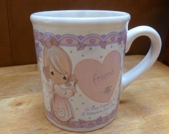 Enesco Precious Moments Friend mug 1994