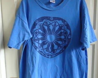 Vintage 80s/90s GODDESS CIRCLE Feminist T Shirt sz L